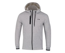 Badminton Clothes - Men's Hoodie Jacket  [GREY]