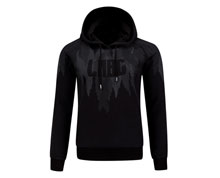 Badminton Clothes - Men's Hoodie [BLACK]