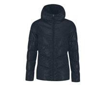 Badminton Clothes - Men's Down Coat  [BLACK]