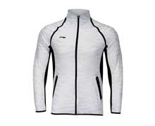 Men's Badminton Jacket [WHITE] AYYM031-1