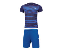 Men's Badminton Uniform [BLUE] AATM033-1