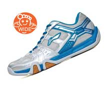 Buy Men's Badminton Shoes [SILVER] AYTM085-7 for Badminton