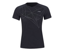 Badminton Clothes - Women's T Shirt [BLACK]