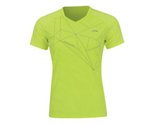 Badminton Clothes - Women's T Shirt [YELLOW]