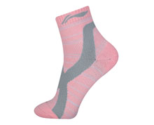Women's Badminton Socks [PINK] AWSN308-1