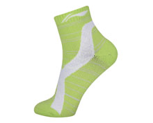 Women's Badminton Socks [YEL] AWSN308-4