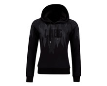 Badminton Clothes - Women's Hoodie [BLACK]