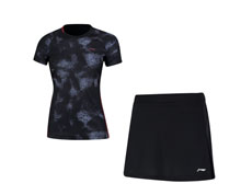 Badminton Clothes - Women's Uniform [GREY]