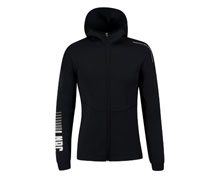 Badminton Clothes - Women's Hoodie Jacket [BLACK]