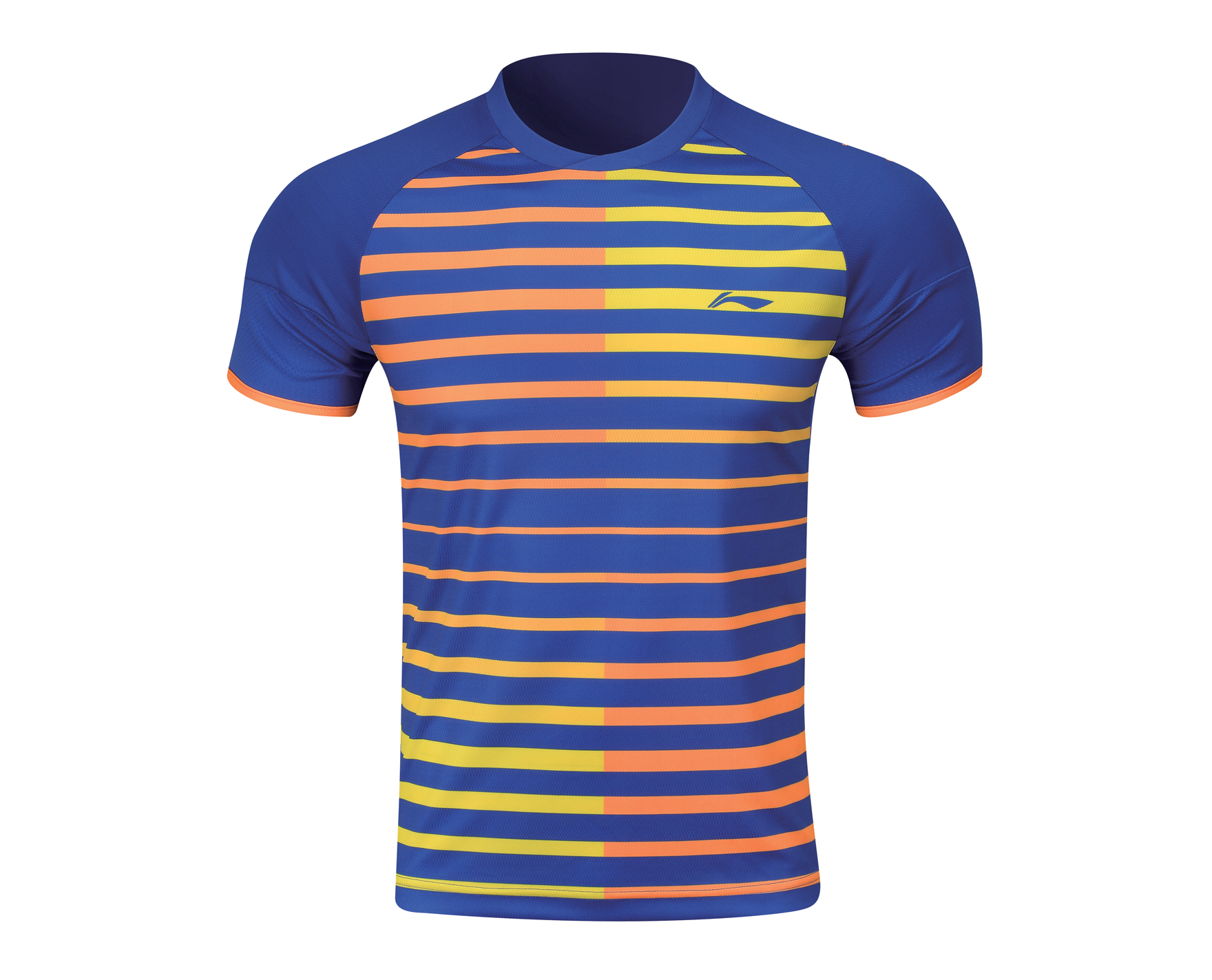5bdaa457 Men's Badminton T Shirt [BLUE] AAYL119-2 [AAYL119-2]